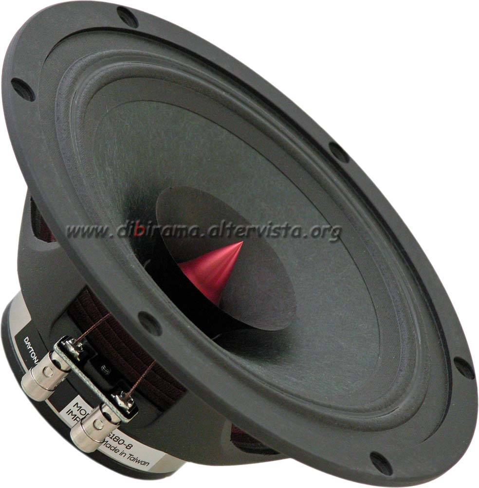 dayton audio ps180-8 front